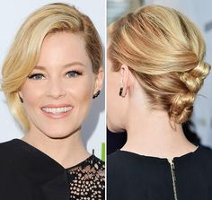 A sophisticated chignon is perfect for second-day hair.
