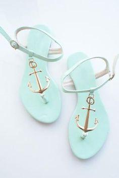 Anchor Sandals