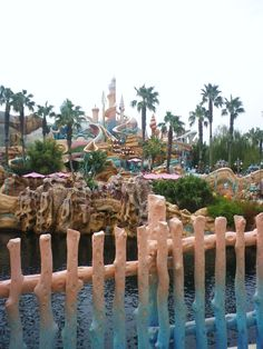 Mermaid Lagoon at Tokyo Disney Sea would love to see other Disney parks around the world one day!