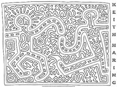 Keith Haring *This looks like a mola! How did I not see that before?*