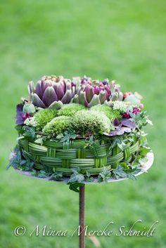 Blomsterverkstad: Finalisterna i Årets Blomsterbagare -tävling