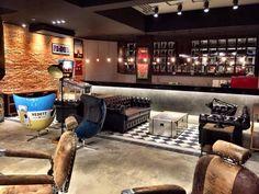 O espaço da nova unidade da Barbearia Corleone - Vila Olímpia