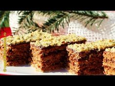 Prajitura cu foi cu nuca si cacao | Farfuria vesela - YouTube Krispie Treats, Rice Krispies, Sweet, Desserts, Food, Youtube, Salads, Food Cakes, Candy