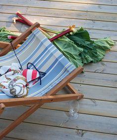 Hämmentäjä: Kesä, saaristo ja raparperi. Summer, archipelago and rhubarb.