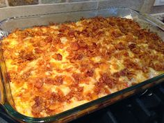 Hashbrown Bake - sounds like the potatoes Julie H used to bring to potlucks back in the WAMU days!