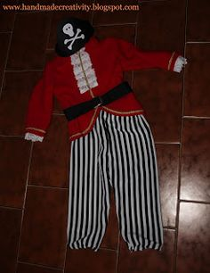costume DIY: pirata - pirate