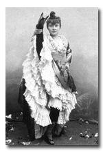 La Goulue vers 1895. Collection privée
