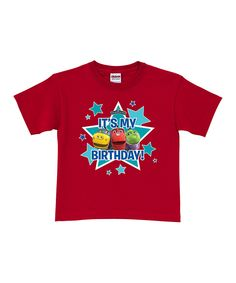 Take a look at this 'It's My Birthday' Personalized Tee - Toddler