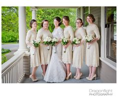 Beautiful modest bridesmaid dresses by Dainty Jewell's Modest Apparel | Photography: Dragonflight Photography | http://www.dragonflightphotography.com/