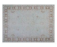 "#17392 Origin:Afghanistan Design:Floral Size:8' 9"" x 11' Sqft:95.33′ Color:Blue"