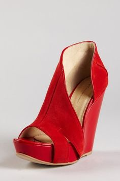 Red Wedge Shoes for more Beautiful wedges shoes click here - https ...