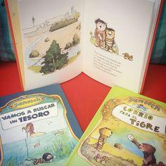 Hay algunos libros que son bonitos por fuera, por dentro... son los libros para soñar de Kalandraka.  Las aventuras de pequeño oso y pequeño tigre os divertirán y acabaréis cogiéndoles cariño, seguro. PVP: 15€ cada libro.