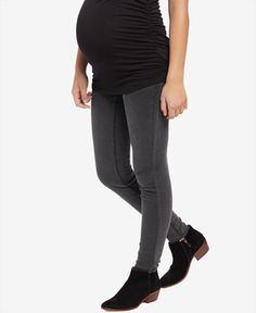 309174cdebd51 Grey Skinny Jeans, Skinny Fit, Black Jeans, Jean Grey, Maternity Skinny  Jeans, Grey Wash, Ankle Pants, Pregnant Mom, Pregnancy Outfits