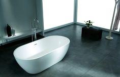 Looking for Acrylic Solid Surface Bathtub,non-pure acrylic bathtub,cast stone bathtub? Modern Bathtub, Modern Bathroom Design, Solid Surface, Stone Bathtub, Best Bathtubs, Bathtub Remodel, Traditional Bathroom, Home Interior, Master Bath