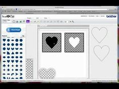 Here is the video showing how you can make your own lattice templates in Inkscape and convert your file to cut with the ScanNCut machine.