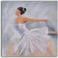 Ballerina in white Hand Painted Canvas Art modern artwork Ballet Painting, Dance Paintings, Acrylic Painting Canvas, Painting & Drawing, Watercolor Paintings, Original Paintings, Canvas Art, Canvas Paintings, Ballerina Art