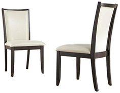 Ashley Furniture Signature Design Trishelle Dining UPH Side Chair Ivory Set of 2