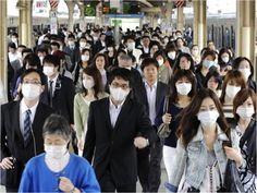 Mascarillas quirúrgicas en Japón