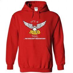 Its a Milo Thing, You Wouldnt Understand !! Name, Hoodi - #tshirt logo #black sweatshirt. BUY NOW => https://www.sunfrog.com/Names/Its-a-Milo-Thing-You-Wouldnt-Understand-Name-Hoodie-t-shirt-hoodies-3955-Red-34906198-Hoodie.html?68278