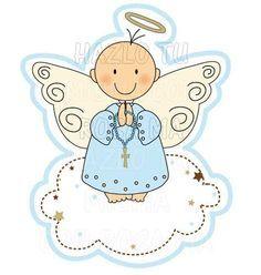 Resultado De Imagen Para Dibujos De Angelitos Para Imprimir Baby Doll Pattern Baby Dedication Card Art