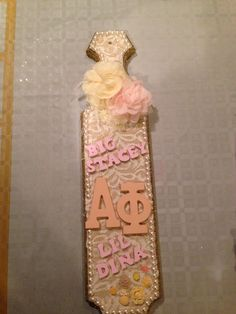Alpha phi sorority paddle