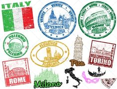 italy illustration - Google Search  ✈✈✈ Don't miss your chance to win a Free International Roundtrip Ticket to Pisa, Italy from anywhere in the world **GIVEAWAY** ✈✈✈ https://thedecisionmoment.com/free-roundtrip-tickets-to-europe-italy-pisa/