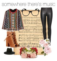 musically inclined by ddwallace on Polyvore featuring polyvore fashion style Tory Burch The Row Gianvito Rossi Alexander McQueen Forever 21 clothing