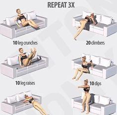 Sofa #workout