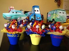 My Son S First Birthday Theme Disney Cars 1st Birthday Party