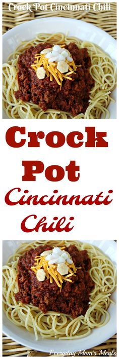Cincinnati Chili is