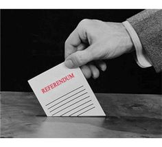 Referendum op woensdag 6 april