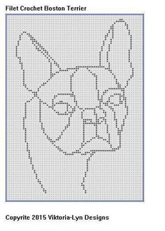 Filet Crochet CHART-Horse with Flowers | Craftsy