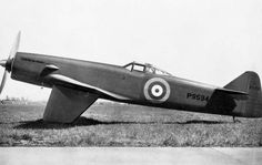 James Martin, broadly responding to Specification F.5/34 for a fighter using an air-cooled engine for hot climates, designed a fighter using the simple basic structure employed and developed in his earlier MB1. Although briefly evaluated as a fighter by the Royal Air Force, the MB2 was limited in design potential and never entered series production. #MartinBakerMB1 #MartinBaker #RAF #RoyalAirForce #fighter #aeroplane #airplane #aircraft #aviation Ww2 Aircraft, Military Aircraft, Experimental Aircraft, Commercial Aircraft, Royal Air Force, World War Two, Wwii, Diesel, Aviation