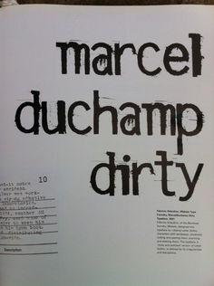 marcel duchamp dirty