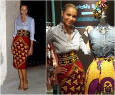 Index of /wp-content/gallery/stella-jean-biografia-foto African Inspired Clothing, African Print Fashion, African Fashion Dresses, Stella Jean, Collared Shirt Dress, Fall Jeans, Cool Outfits, Fashion Outfits, Fashion Brands
