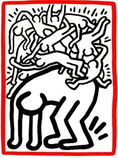 Keith Haring - WikiPaintings.org