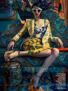 Fashion Photography: Waleska Gorczevski by Zee Nunes for Vogue Brazil November 2013 8