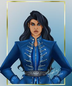 for the Six Fanarts challenge. Zoya Nazyalensky from the Grisha Trilogy and King of Scars by The Grisha Trilogy, Crow Art, Best Authors, Comic, Leigh Bardugo, Six Of Crows, Crescent City, Queen, I Love Books