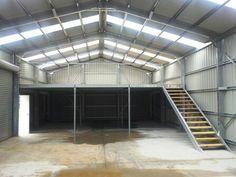 Pole barn with loft Garage Shop, Garage Kits, Garage Loft, Garage Studio, Pole Barn Garage, Garage Plans, Garage House, Garage Workshop, Garage Ideas
