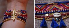 DIY — Hipanema like bracelet tutorial                                                                                                                                                                                 More