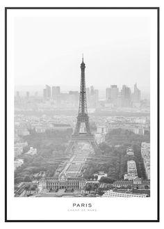 Paris Eiffel Tornet Poster