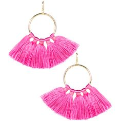 Izzy Gameday Earrings Miss Pink ($38) ❤ liked on Polyvore featuring jewelry, earrings, gameday boots, pink earrings, pink jewelry and earring jewelry