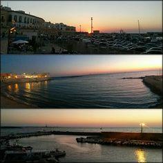 Sea and sunset- Italy, Puglia
