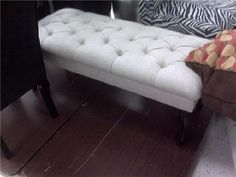 miscellaneous - tufted, bench,  tufted bench I spotted at TJ Maxx and a Marshall's
