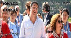 Il governo fazzolettone dello scout Renzi