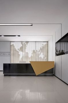 Super Creative reception desk sketchup that will impress you . - Super Creative reception desk sketchup that will impress you - Corporate Office Design, Office Reception Design, Modern Reception Desk, Corporate Interiors, Office Interior Design, Office Interiors, Reception Counter Design, Office Counter Design, Office Designs