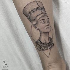 Marla Moon Tattoo Nefertiti