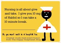 *** A complete collection of original give and take humor ecards.  Purchase this ecard on over 50 popular items at the Medical Humor Store at http://www.zazzle.com/happyhospitalist/gifts?cg=196941897173879665