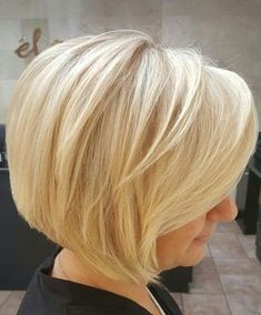 55 Short Layered Bob Hairstyles -- [Which One Is the Best . Layered Bob Hairstyles, Trendy Hairstyles, Girl Hairstyles, Undercut Hairstyles, Feathered Hairstyles, Short Hairstyles For Women, Short Blonde, Blonde Hair, Short Hair Cuts