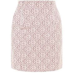 Pink Geo Print Double Zip Front A-Line Skirt ($23) ❤ liked on Polyvore featuring skirts, mini skirts, pink a line skirt, a line skirt, geometric print skirt, a line mini skirt and pink mini skirt